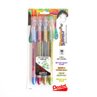 Pentel, Krazy Pop, 4 pack, Gel, Pen
