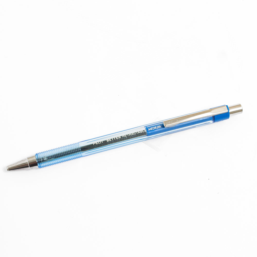 Pilot Better Retactable Ballpoint Pen FIne