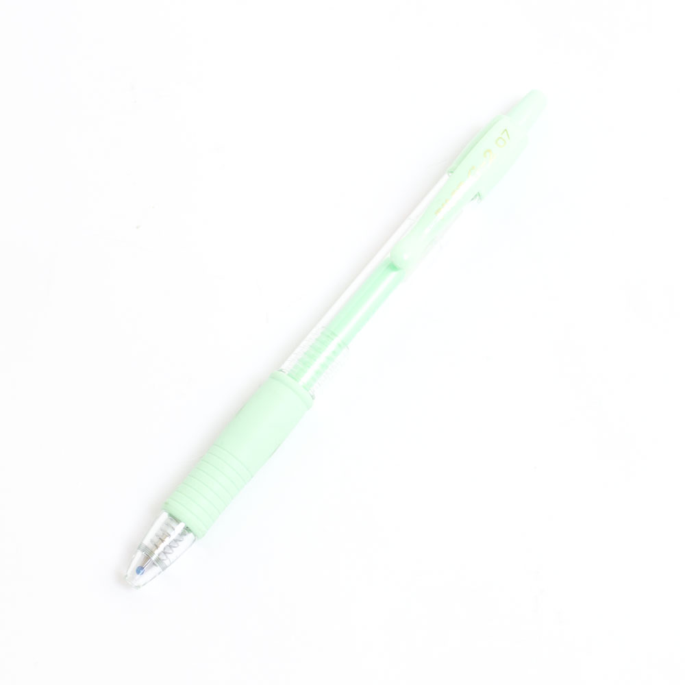 Pilot, G2, Pen, Fine, Retractable, Green