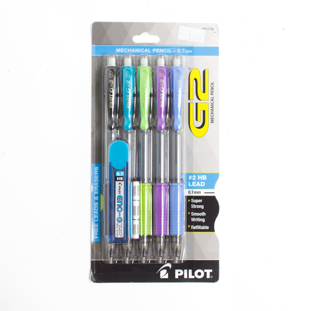 Pilot, G2, Pencil, 0.7mm, Pack