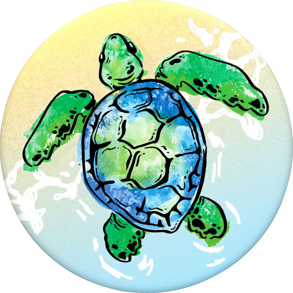Popsockets, Animals, Swappable, PopGrip, Turtle