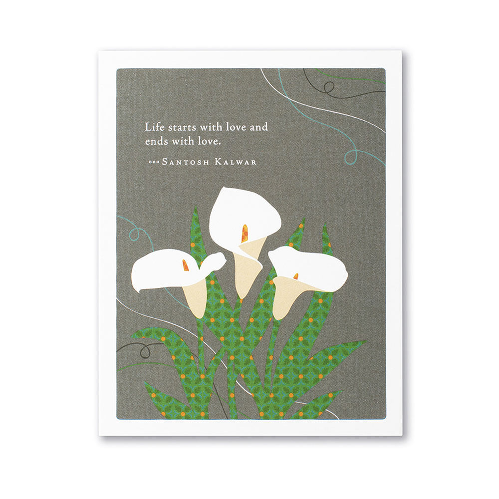 Positively Green, Greeting Card