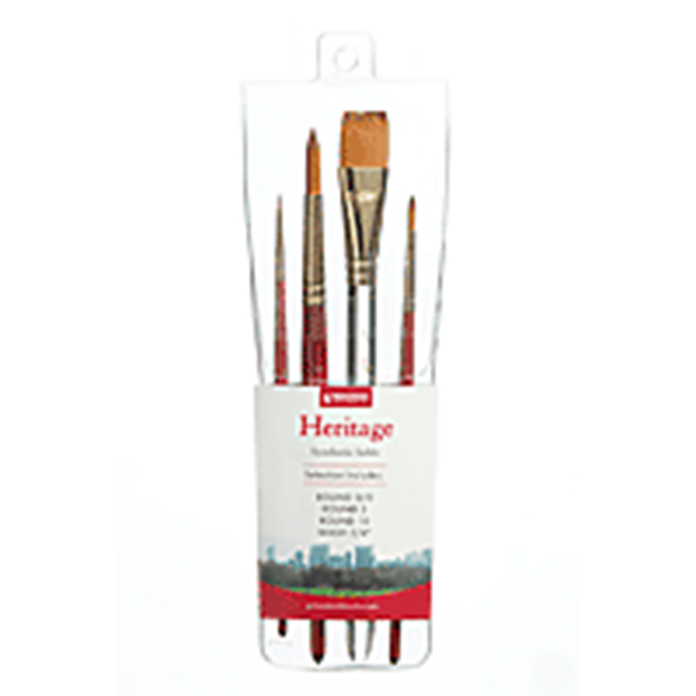 Princeton, Professional, 4 Brush, Sets, Heritage