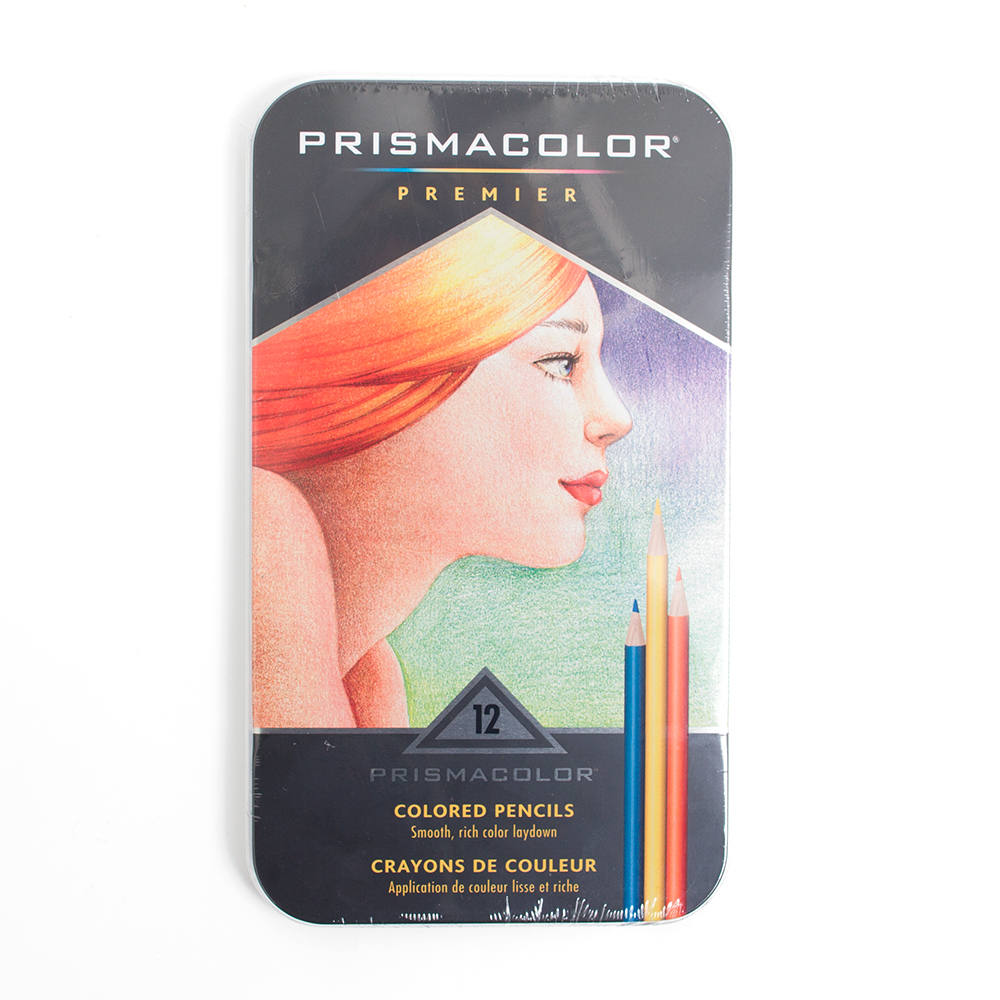 Prismacolor Thick Core Colored Pencil 12 Set