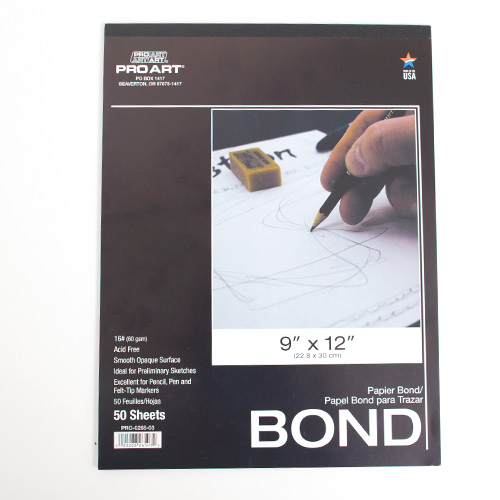 Pro Art 16 Bond Paper Pad 50 Sheets