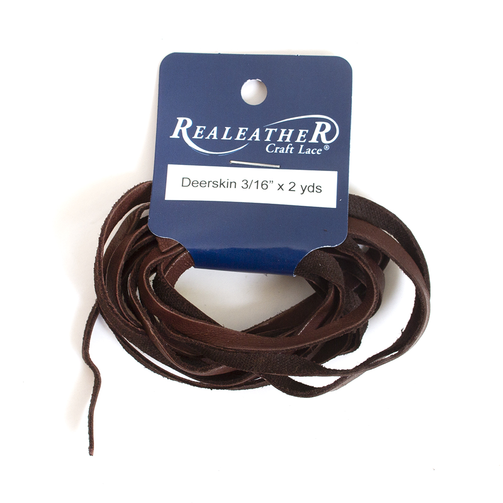 Realeather, Deerskin Lace