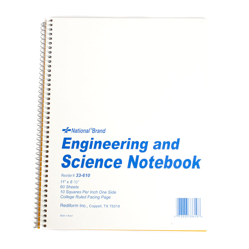 Rediform, Science Notebook, Quad Ruled