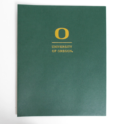 Roaring Springs Academic O Matte Folder_Green
