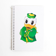 Oregon Mascot, Notebook, Side Bound