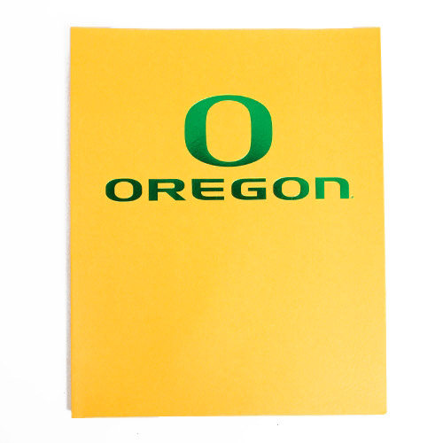 Classic Oregon O, Oregon, Matte, Folder