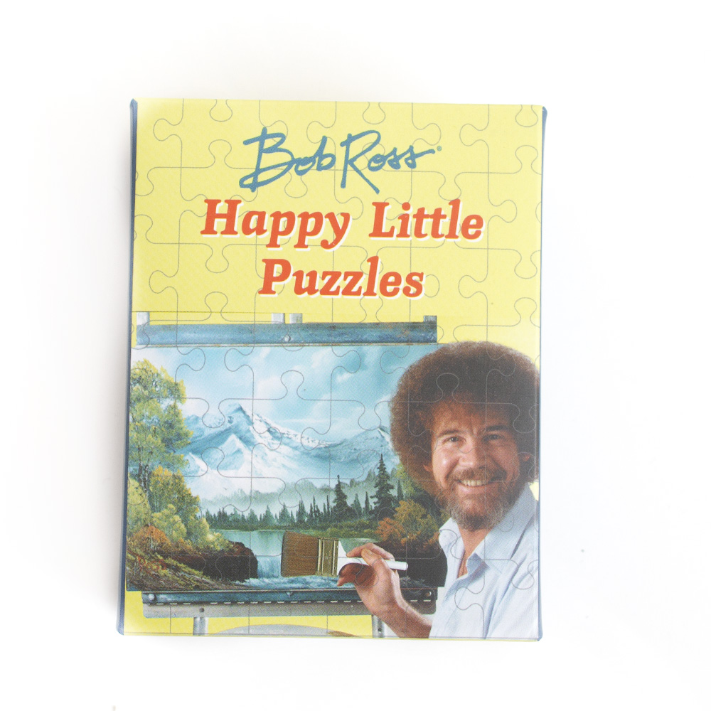 RunningPress, Bob Ross, Happy Little Puzzles