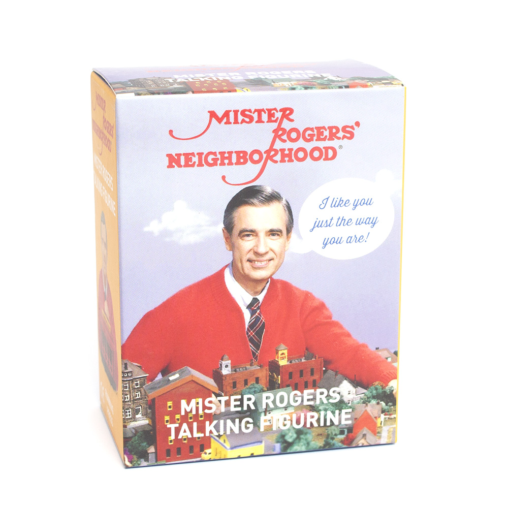 RunningPress, Mister Rogers, Talking Figurine