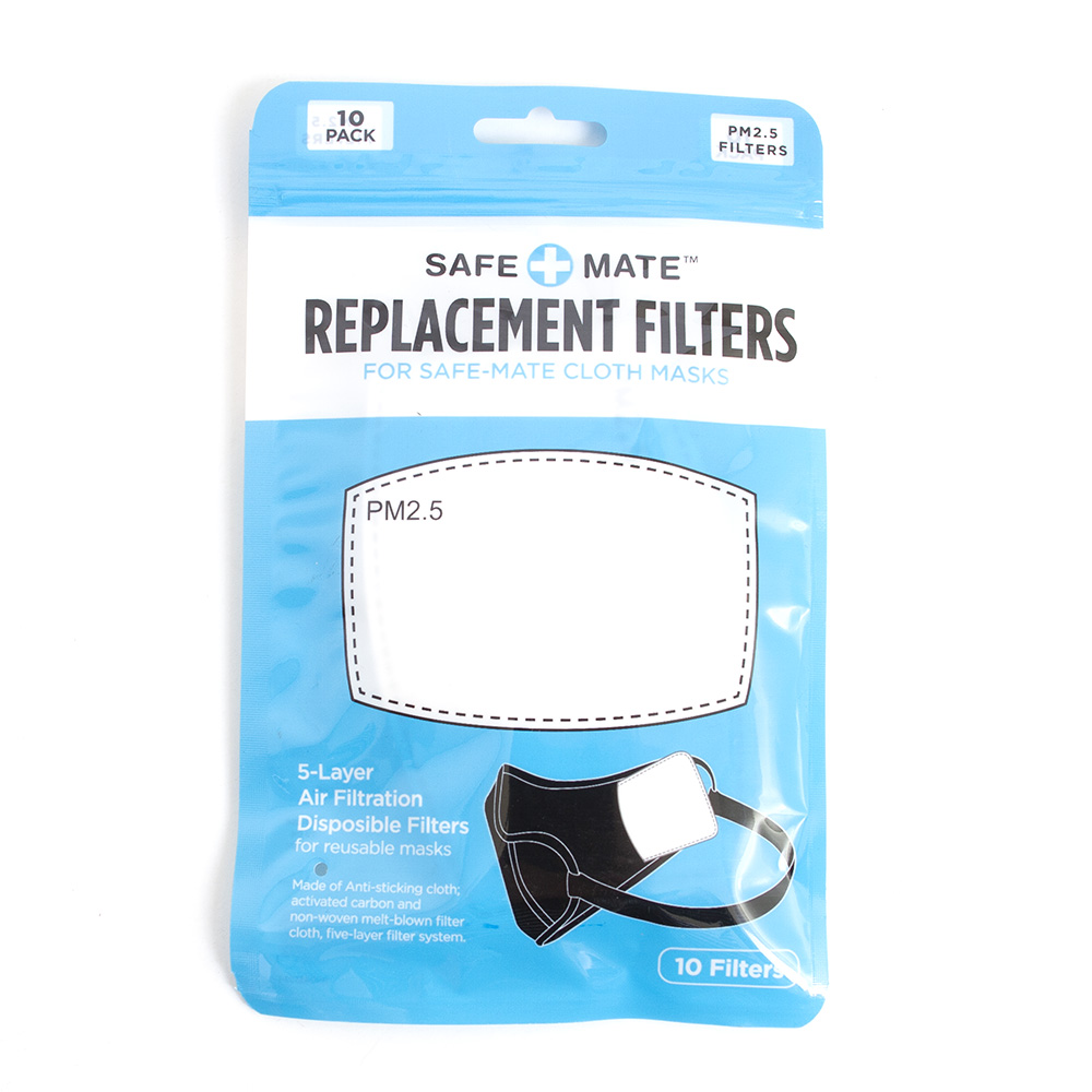 Safe Mate, Replacement, Filters, 10 Pack