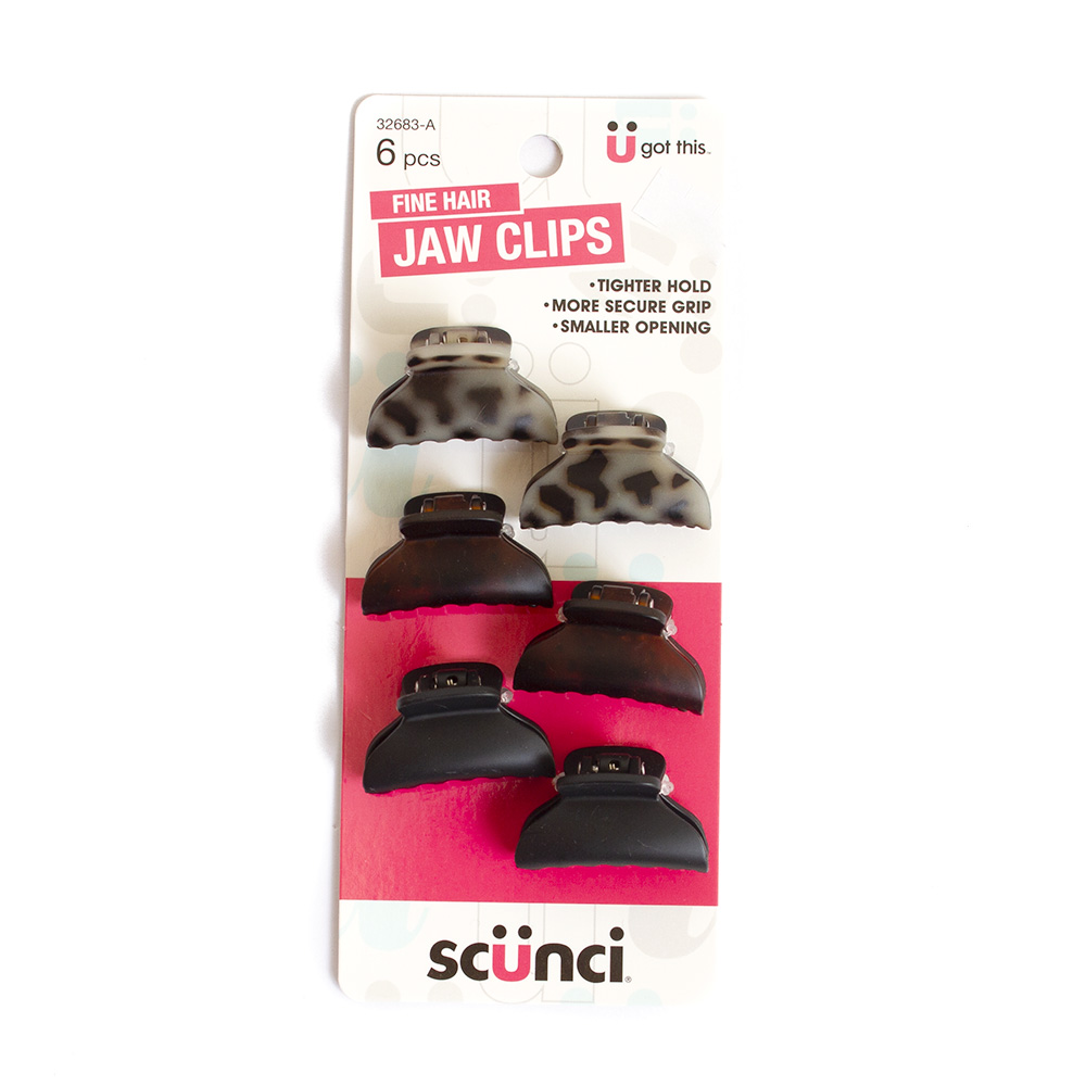 Jaw Clip, 6 Pack