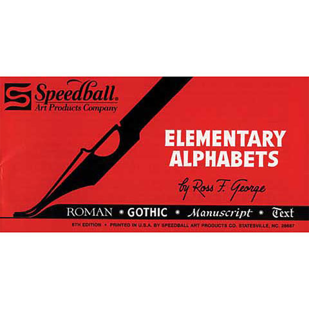 Speedball, Elementary, Alphabet Book