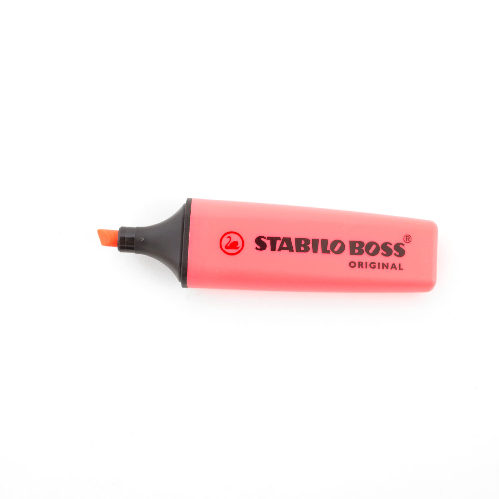 Stabilo, Boss, Original, Highlighter, Red