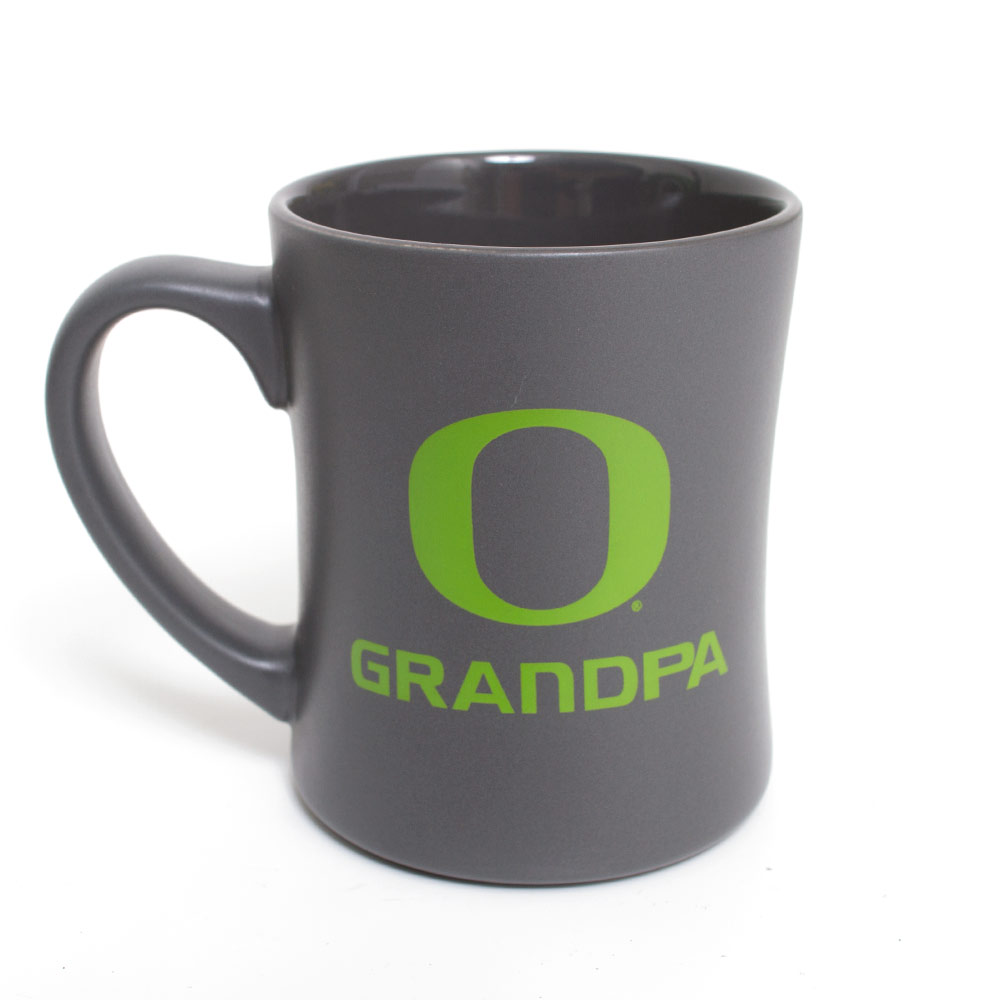 Steel Grey O Grandpa Mug 16oz