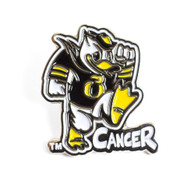 Stomp Out Cancer Duck, Lapel Pin