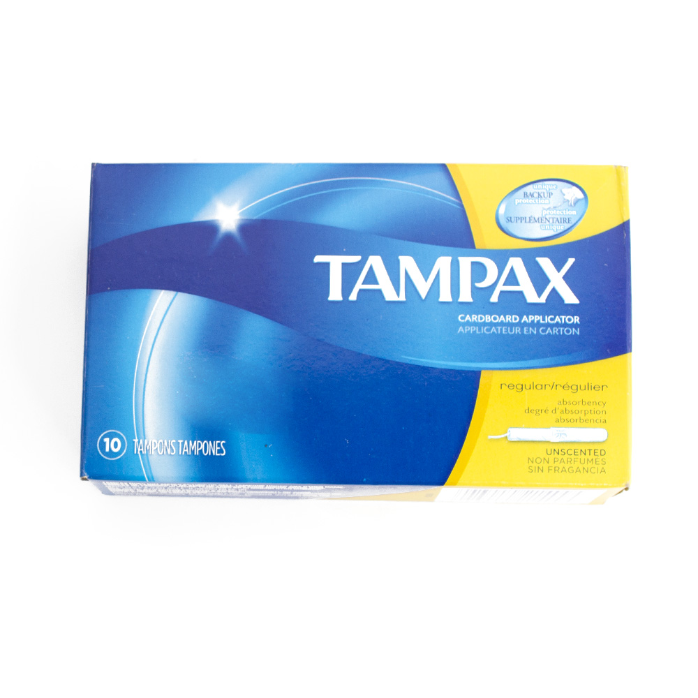 Tampax, Tampons, Regular, 10 Count