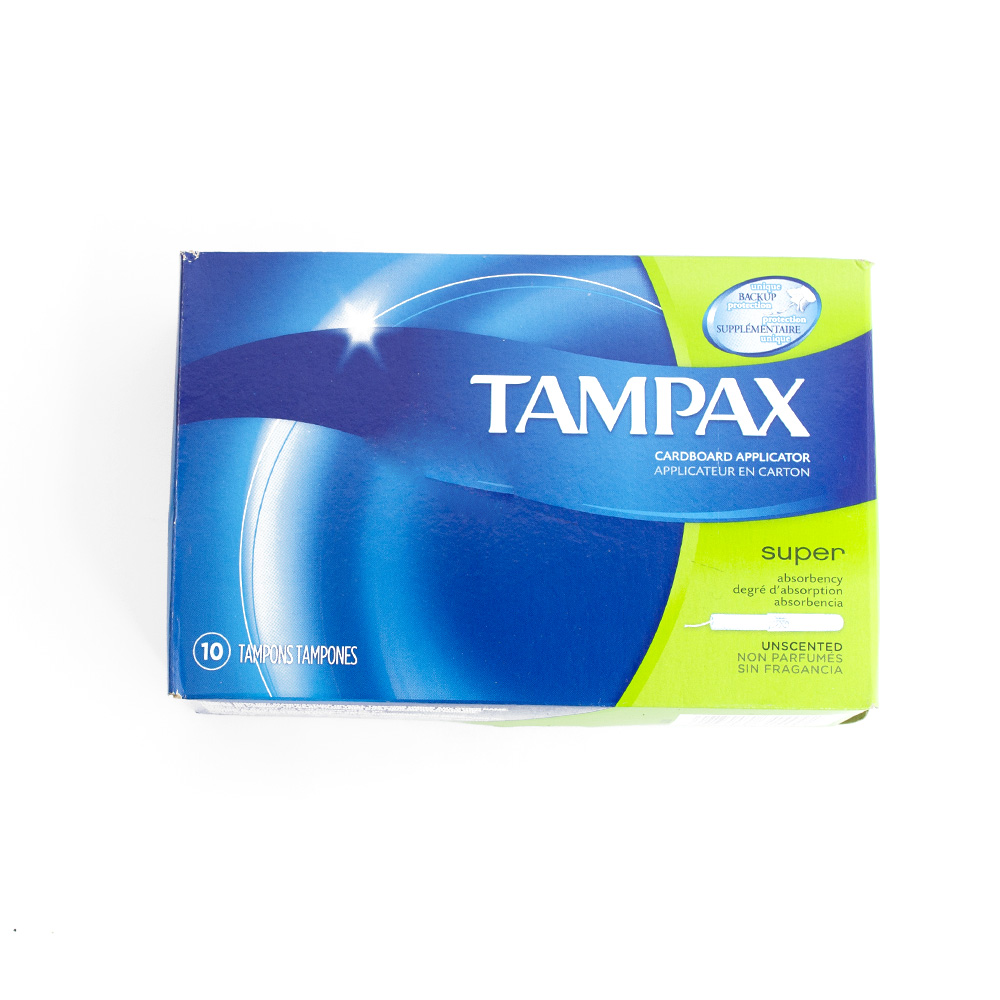 Tampax, Tampons, Super, 10 Count