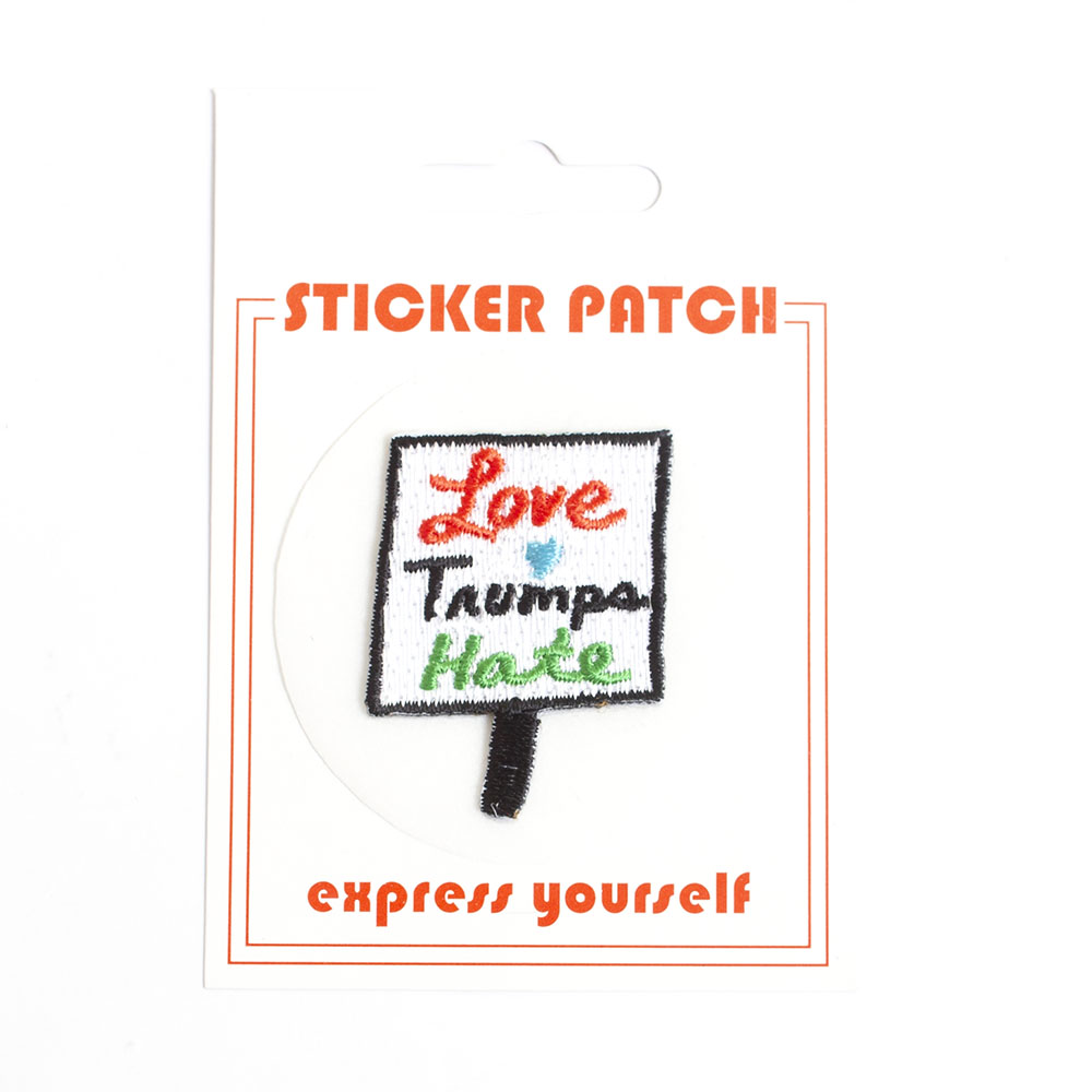 The Found, Fabric Patch, Love Trumps Hate