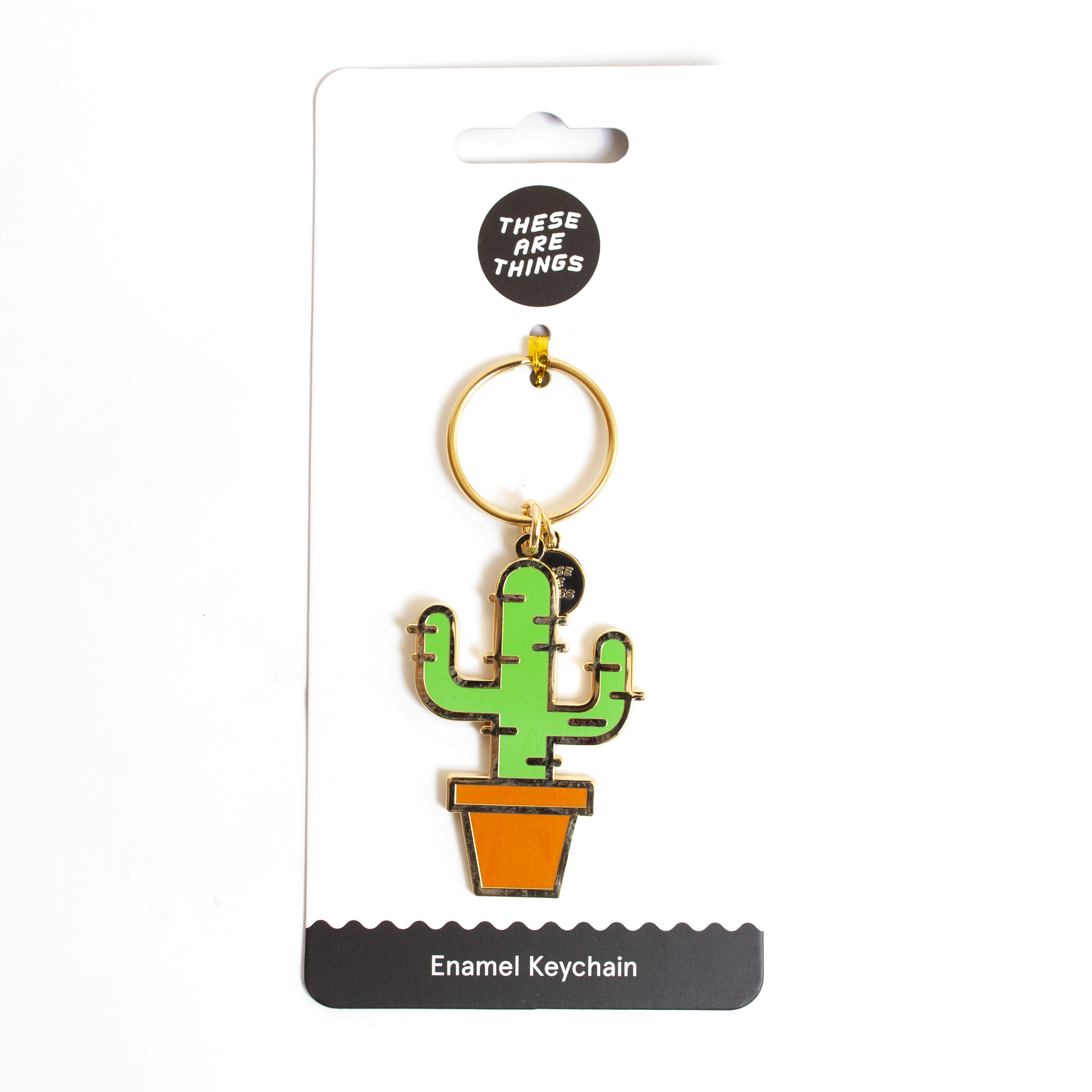 These Are Things, Enamel, Keychain, Novelty