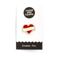 These Are Things, Enamel Pin, Novelty