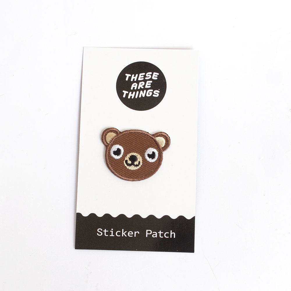 These Are Things, Fabric Patch, Bear