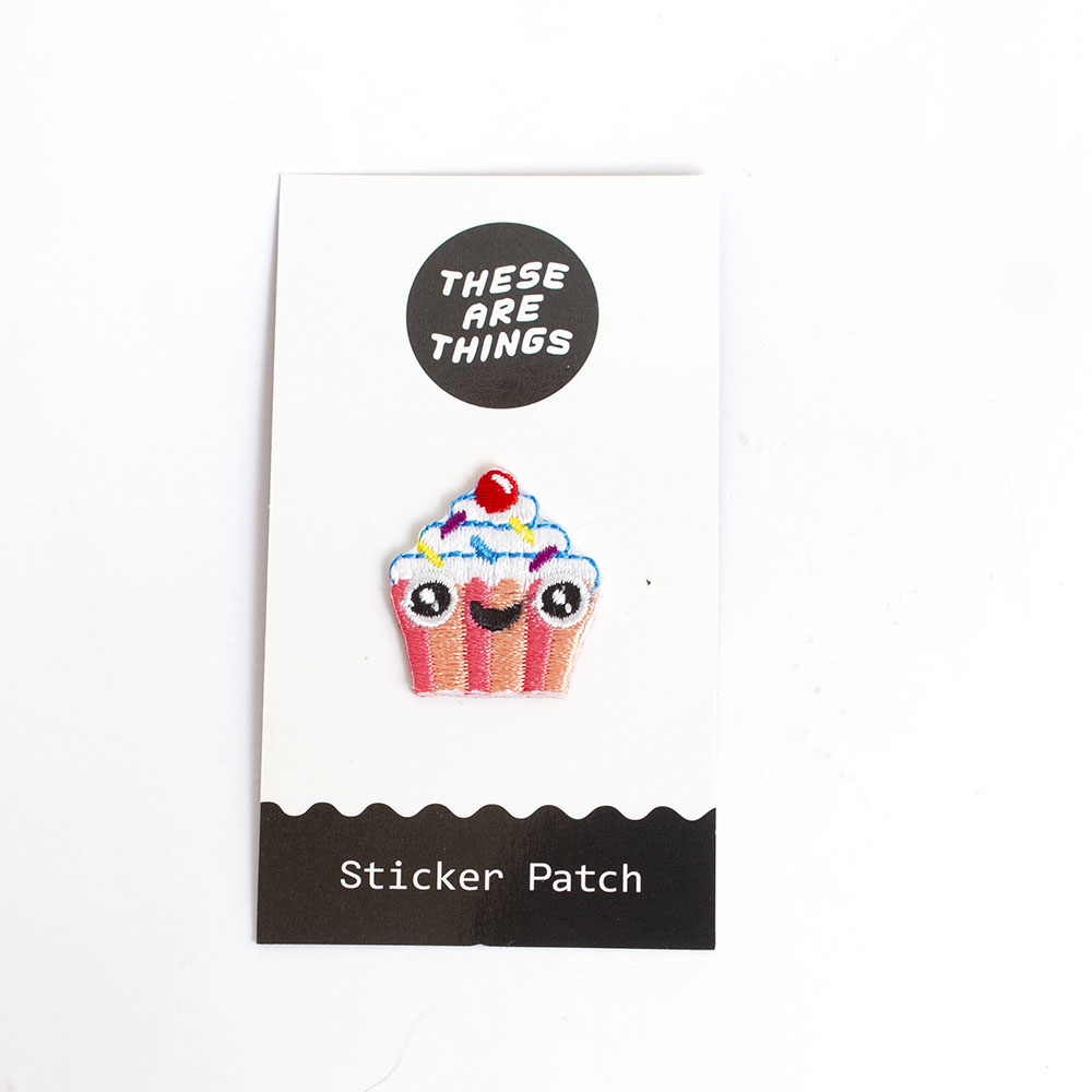 These Are Things, Fabric Patch, Cupcake