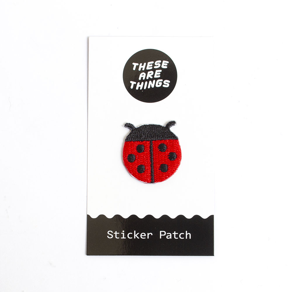These Are Things, Fabric Patch, Ladybug