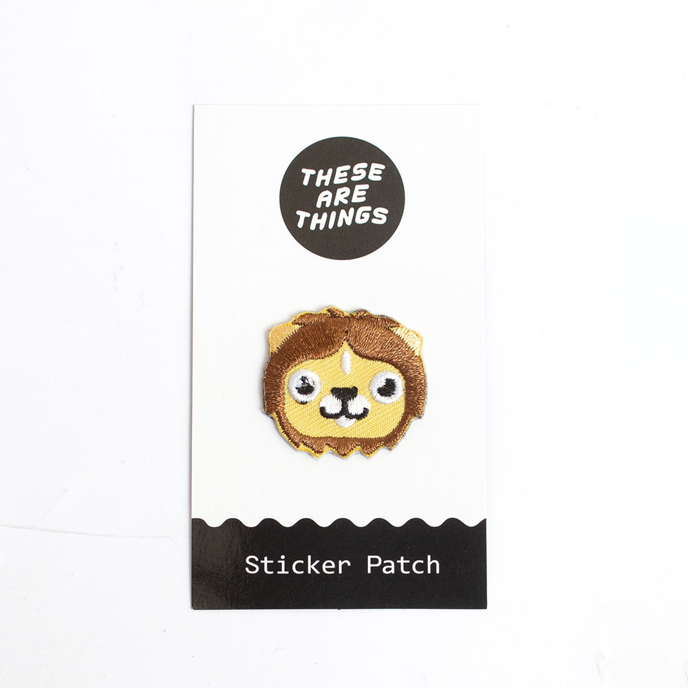 These Are Things, Fabric Patch, Lion