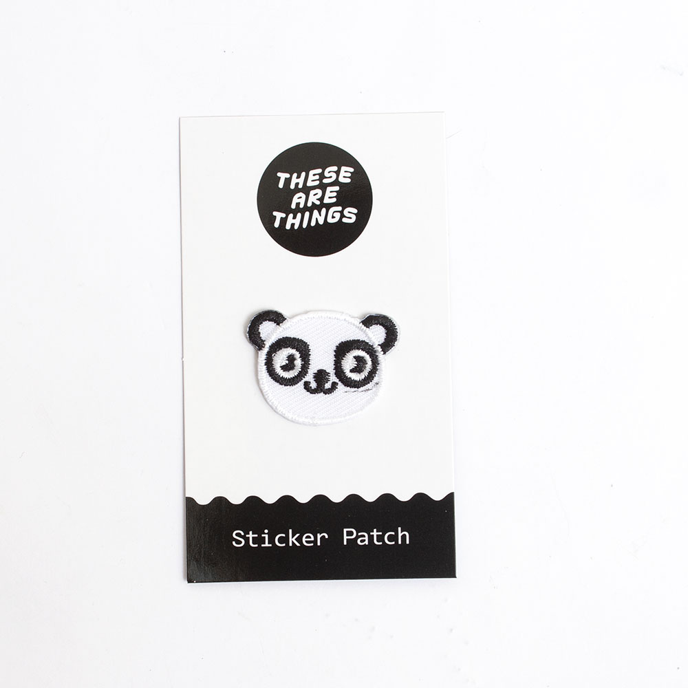 These Are Things, Fabric Patch, Panda