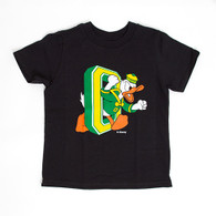 Toddler Black Duck Through O Tee