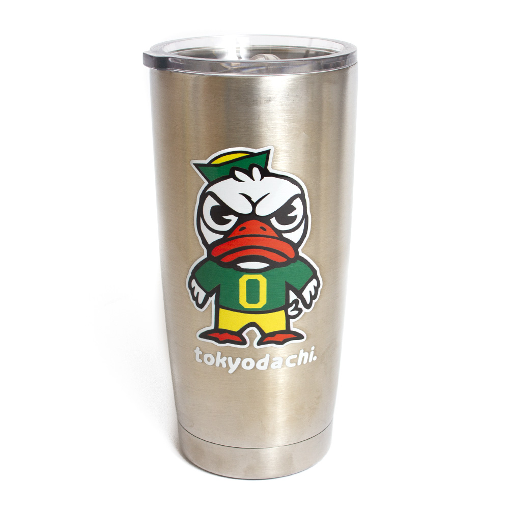 Tokyodachi Duck, Metal, Vacuum, Tumbler, Pop top