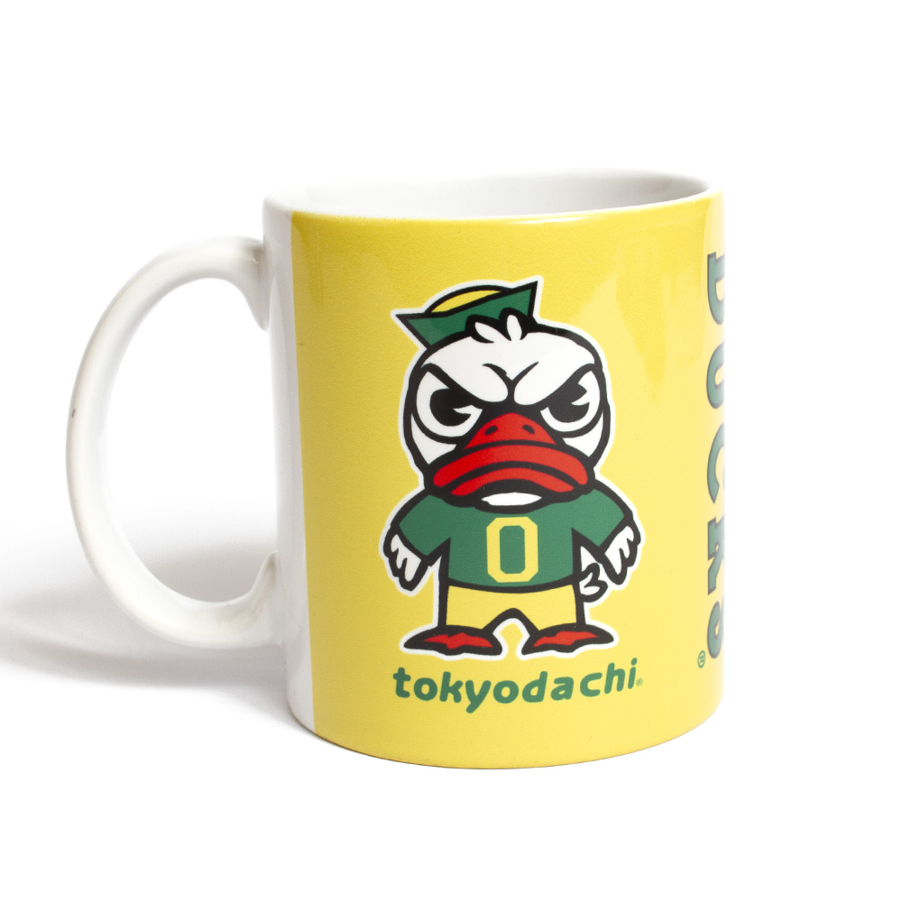Tokyodachi Duck, Ceramic, Traditional, Mug, Reverse