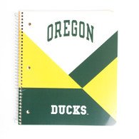 Tops Oregon Ducks 2 Subject College Ruled Spiral