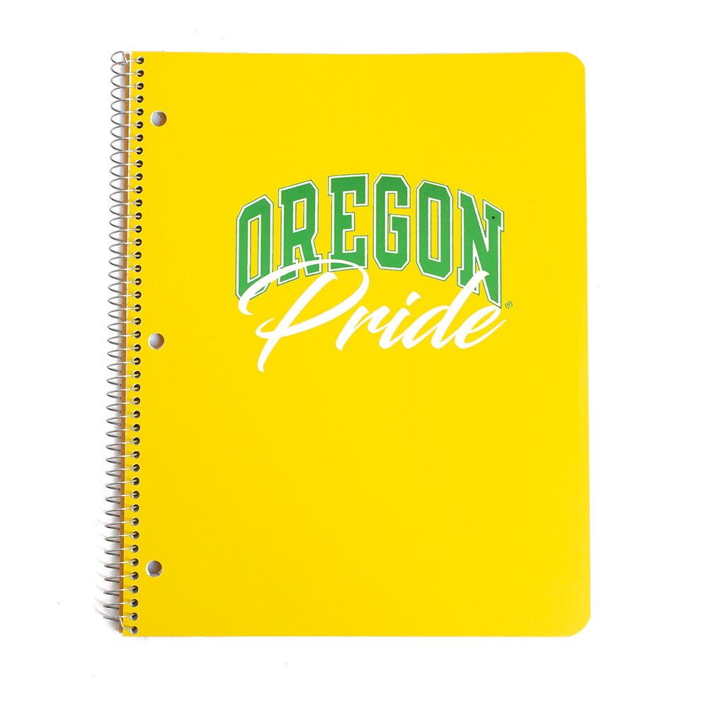 Oregon Pride, 80 count, 1-Subject, Notebook