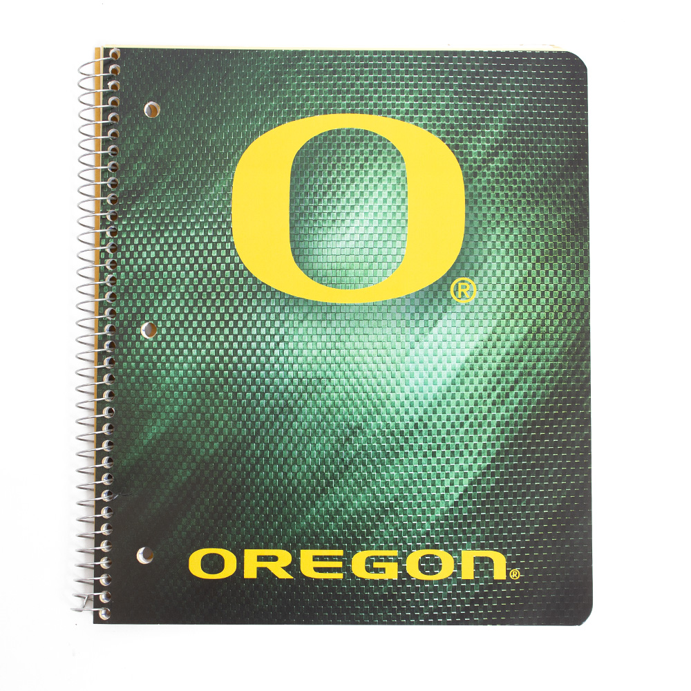 O-logo, Oregon, Spiral, Notebook
