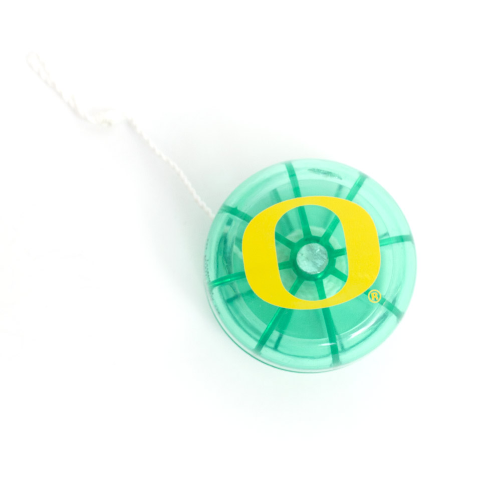 Translucent Green, Yellow O, All Pro Yo-Yo