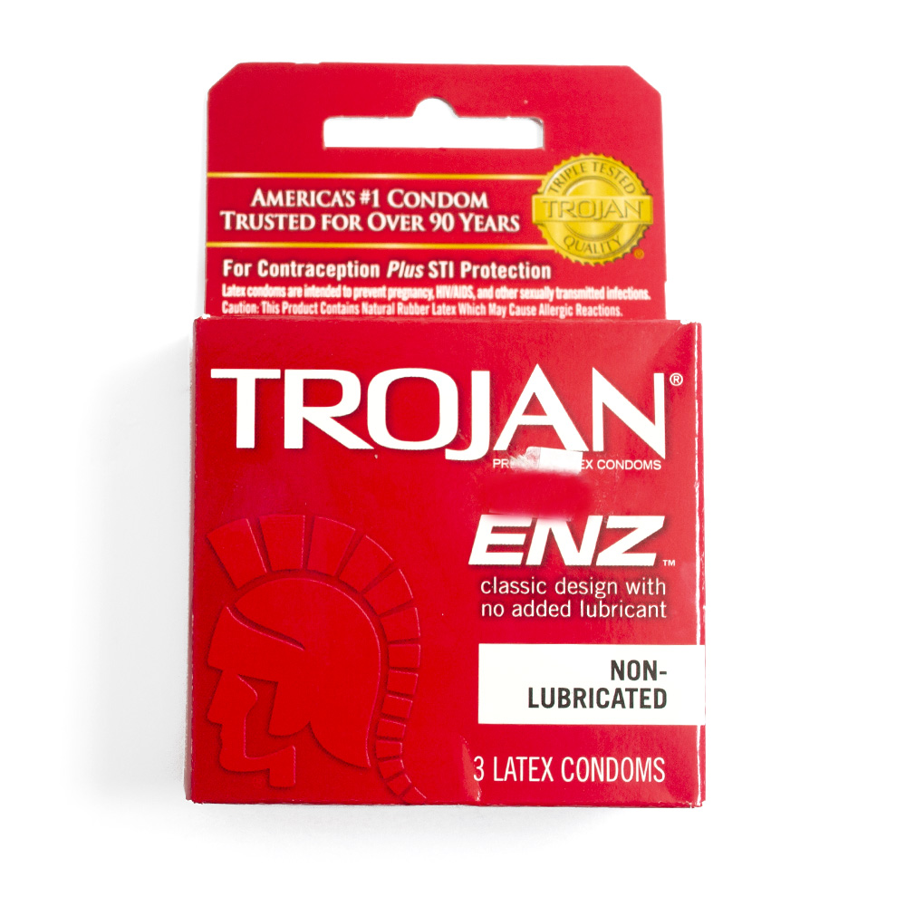 Trojan, Condom, Latex, Lubricated