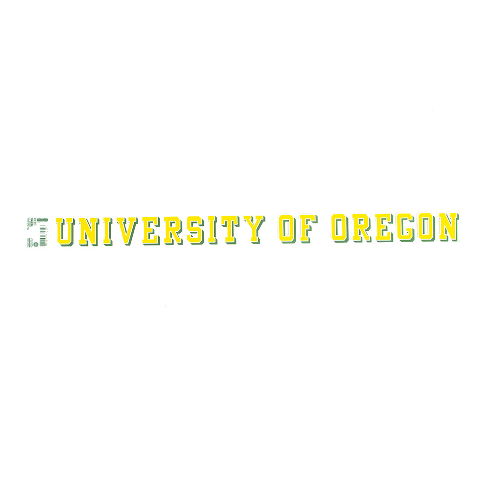 University of Oregon, Potter, Decal