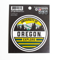 University of Oregon, Explore, Decal