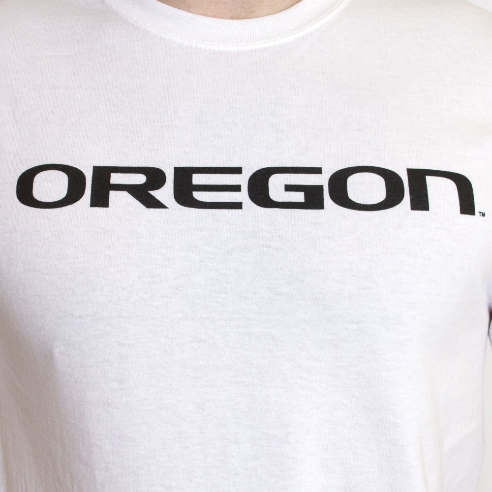Oregon, Straight, Cotton, T-Shirt
