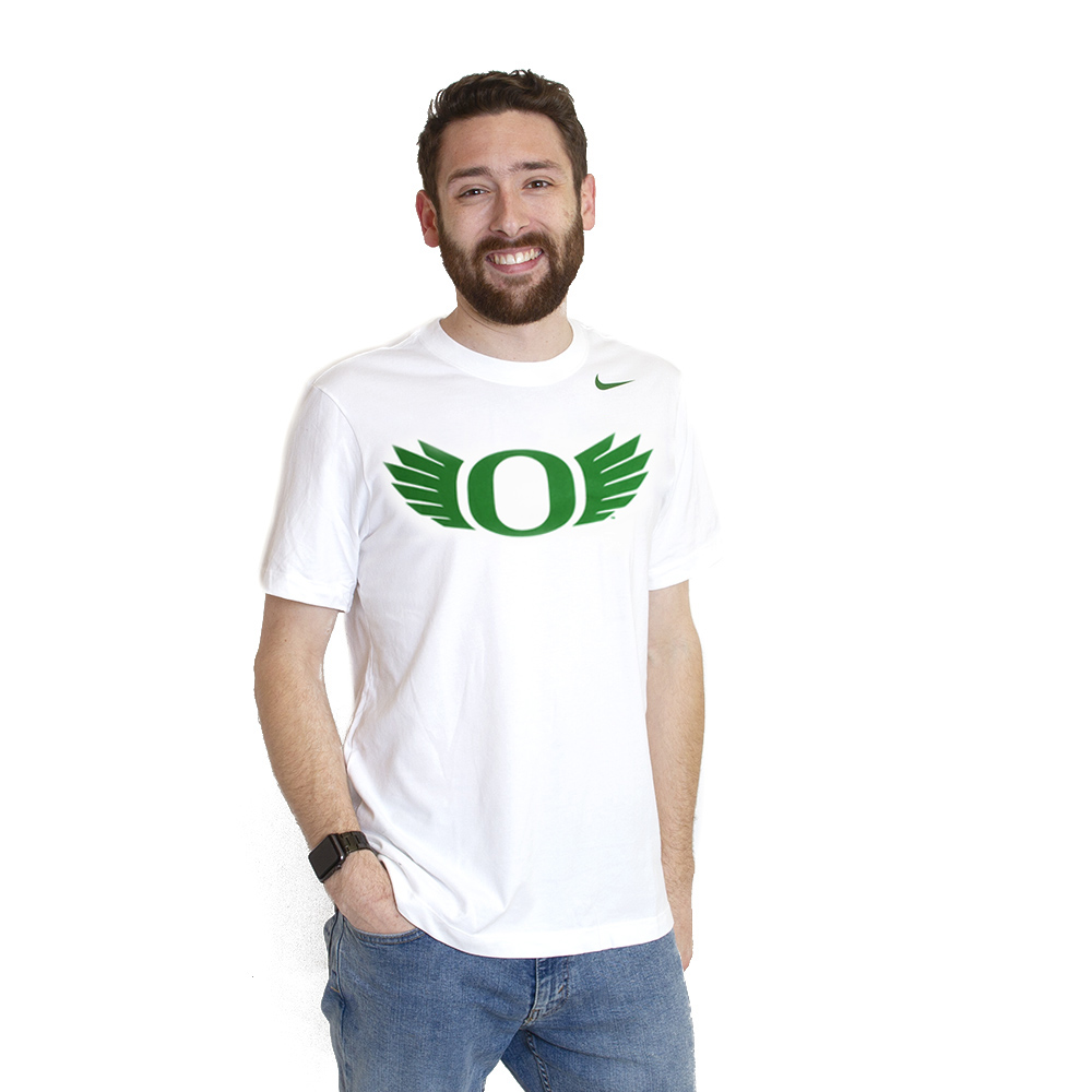 Classic Oregon O, O Wings, Nike, Cotton, T-Shirt