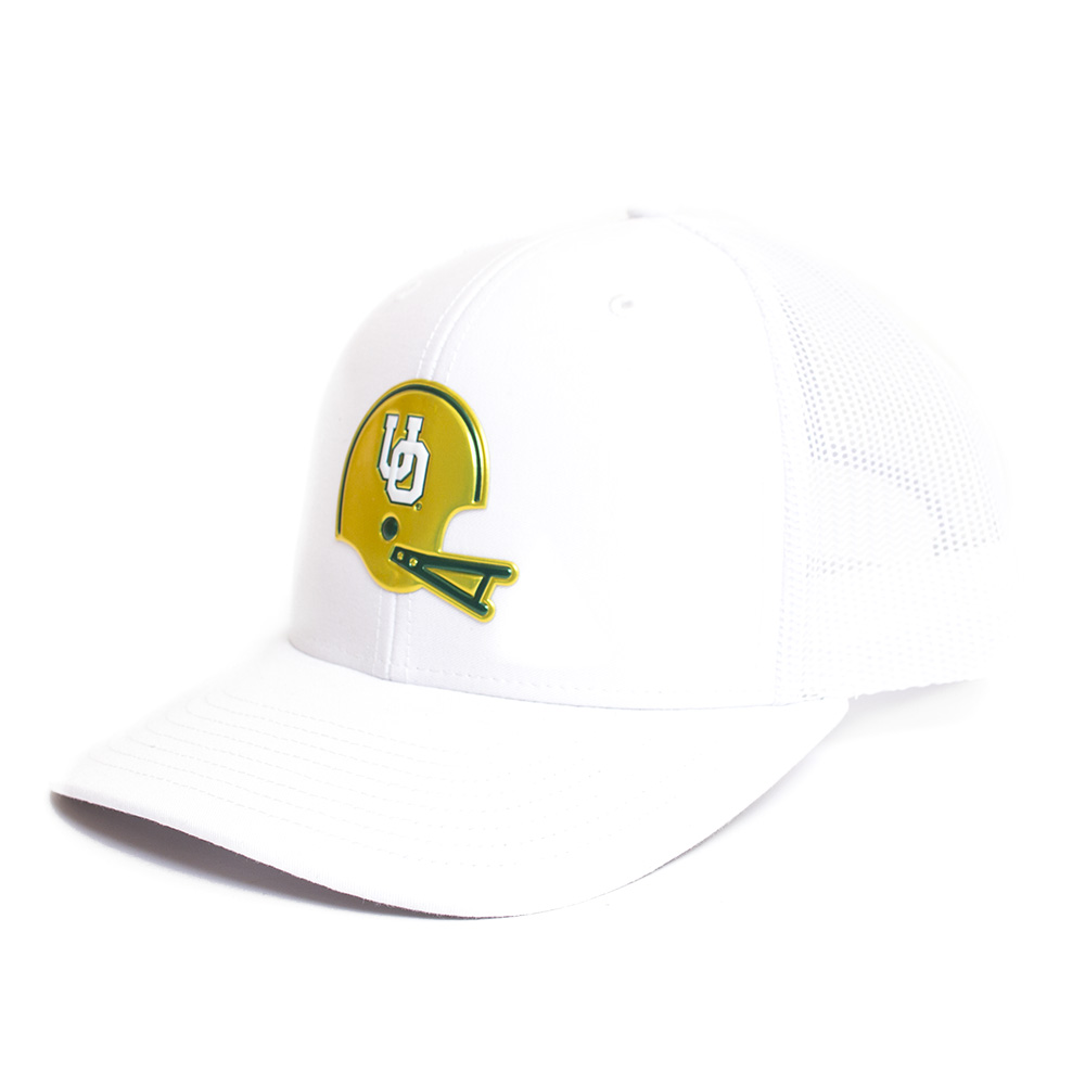 Interlocking UO, Richardson, Trucker, Hat, White