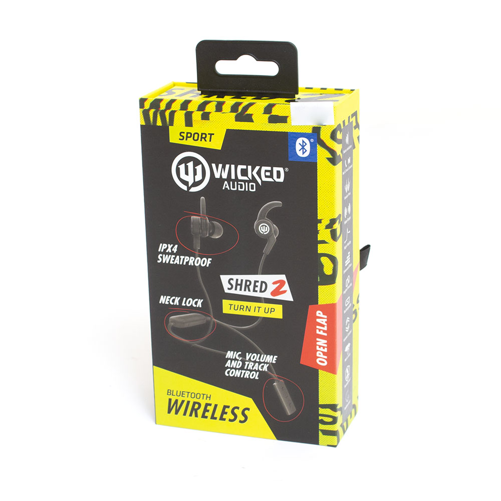 Wicked, Shred, Bluetooth, Sport Earbud