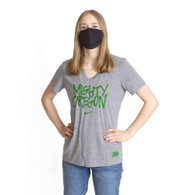 Mighty Oregon, Women's, Nike, Tri-Blend, V-Neck, T-Shirt
