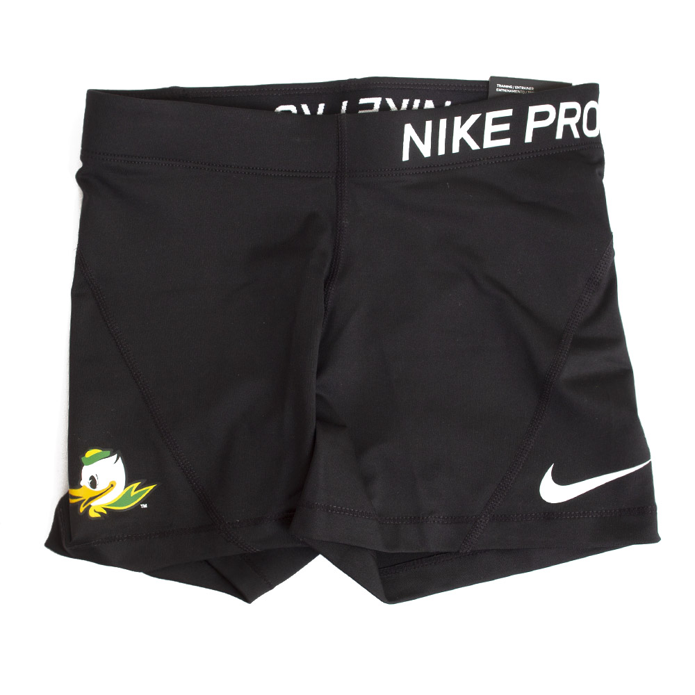 Fighting Duck, Women's, Nike, Pro Compression, Short