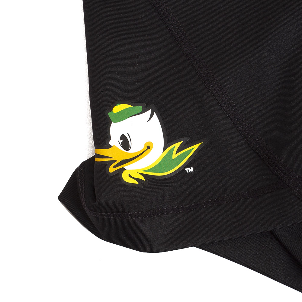 Fighting Duck, Women's, Nike, Pro Compression, Short, Mascot