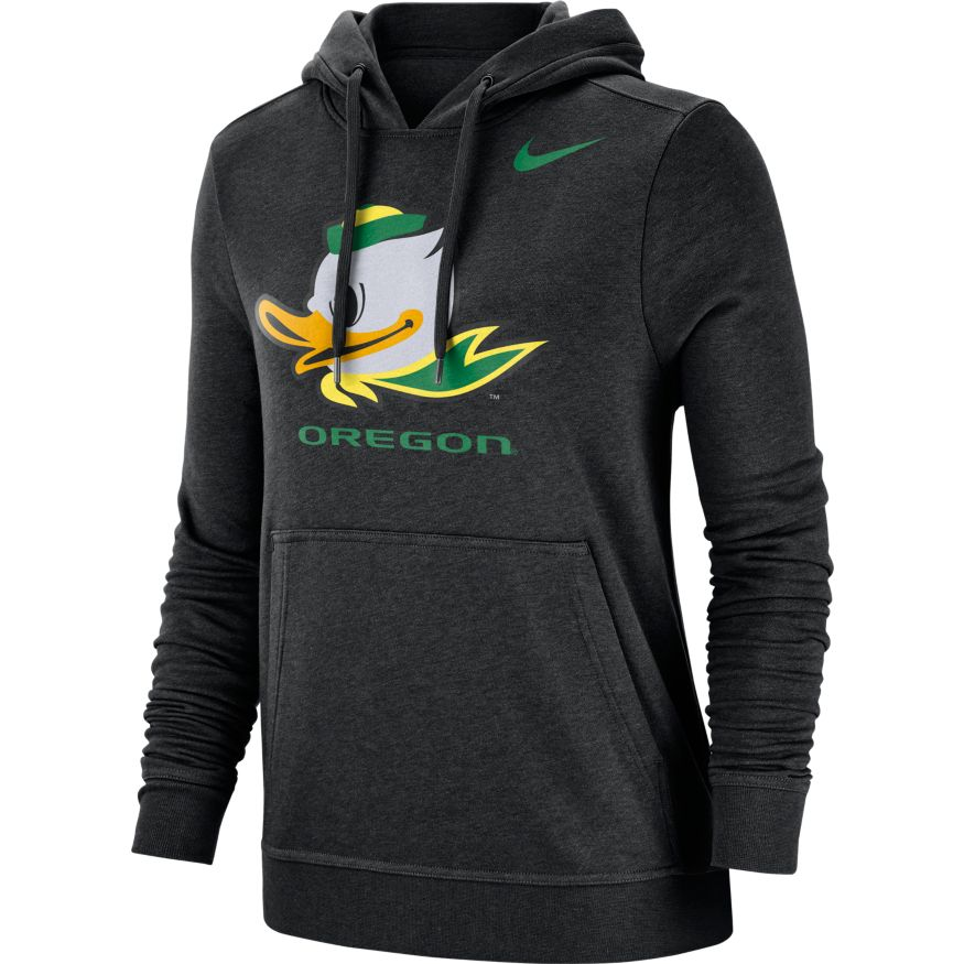 Women's, Fighting Duck, Oregon, Nike, Club, Hoodie